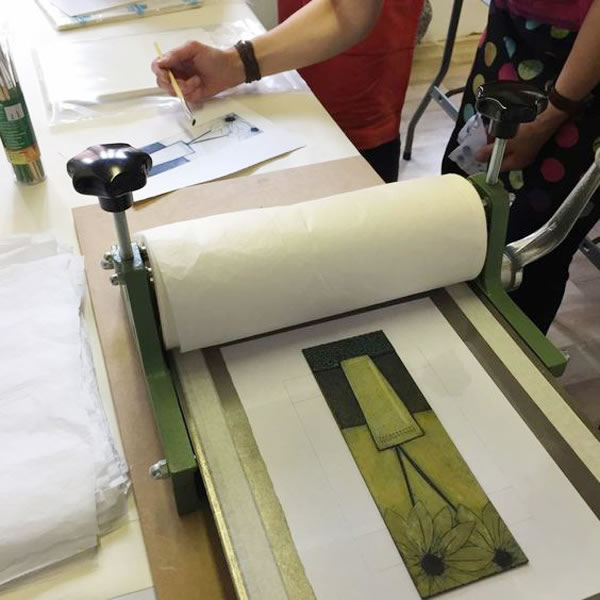 suzi thompson collograph workshops
